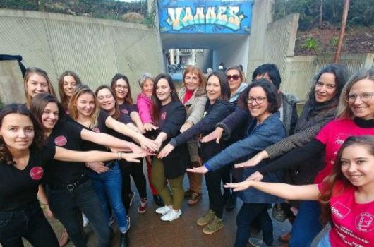 wall of femmes