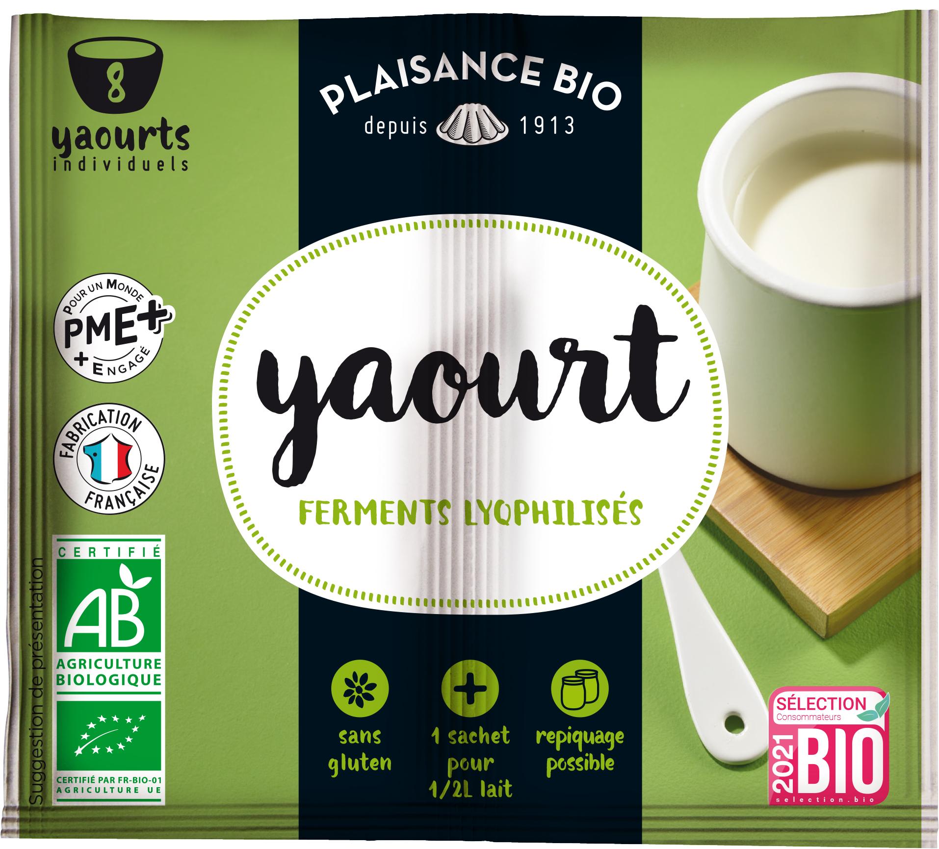 yaourt plaisance bio