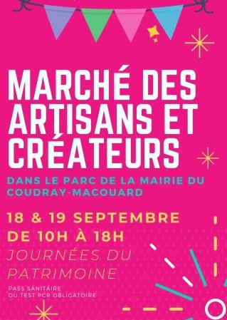 Affiche Marche des Artisans