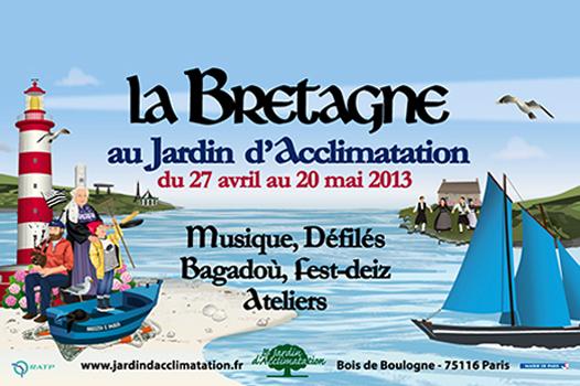 Bretagne jardin d'acclimatation