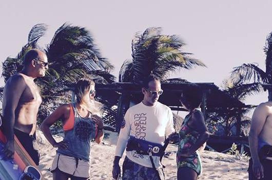 Kite & Connect, le concept de beach business
