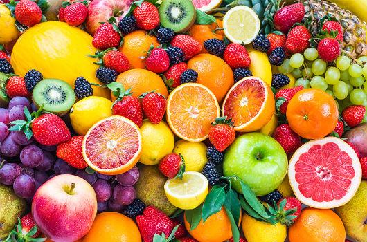 fruits de printemps