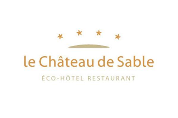 logo hotel restaurant chateau de sable